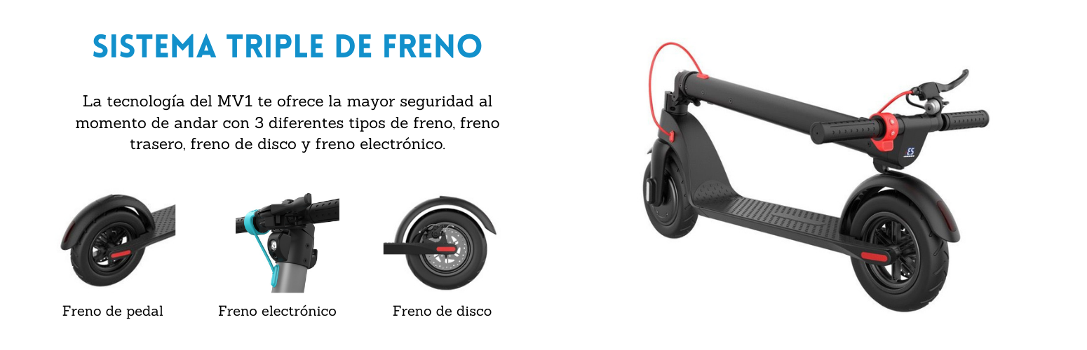 scooter_electrico_MV1_frenos